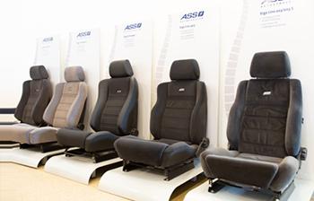 Aangepaste autostoelen