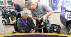 Welzorg Velsen markt rolstoel scootmobiel