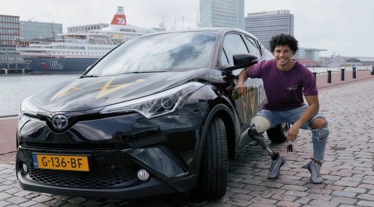 Welzorg Auto op Maat Noah Paralympische Spelen 2024