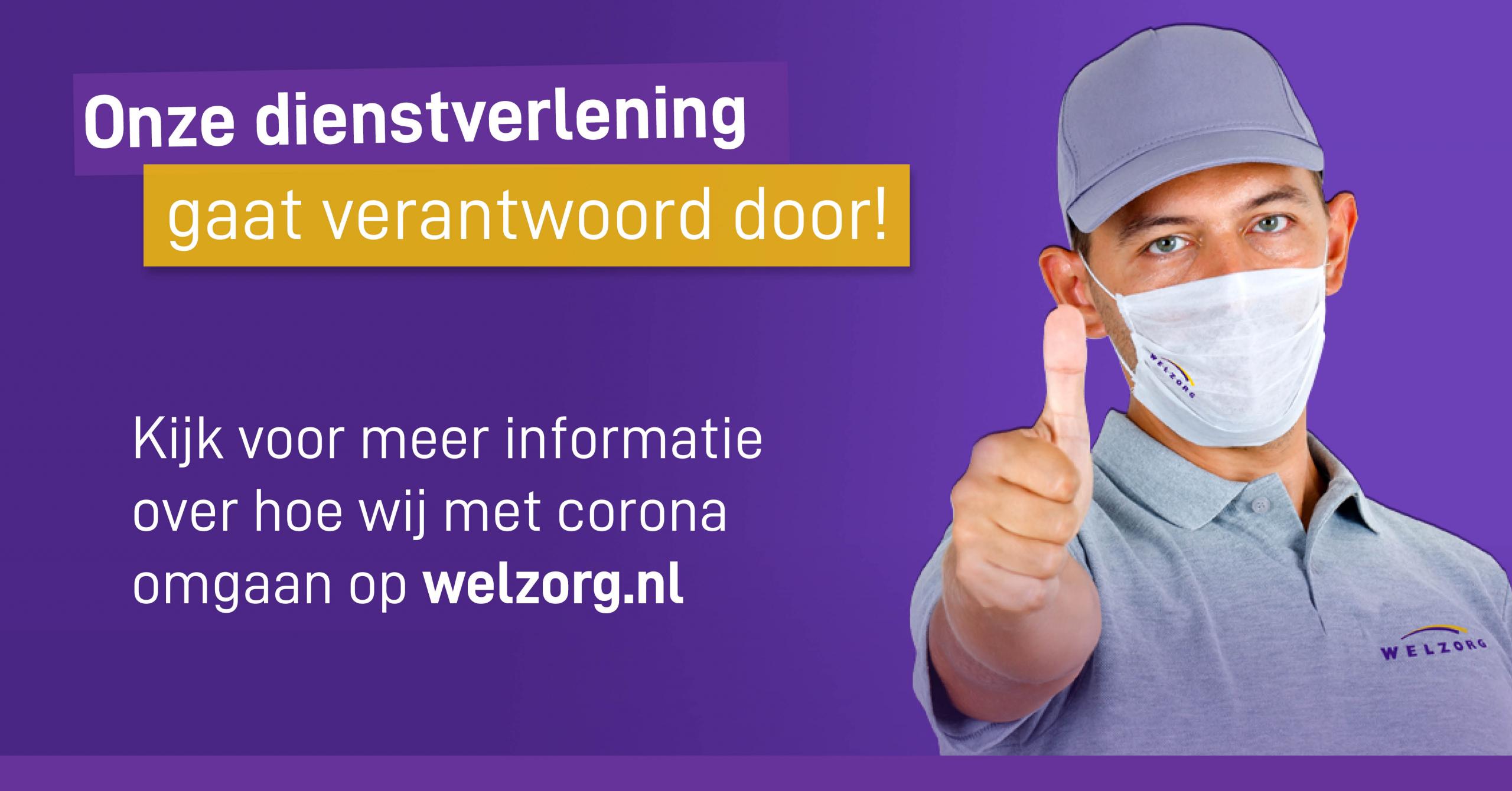 Welzorg maatregelen Coronavirus (COVID-19)