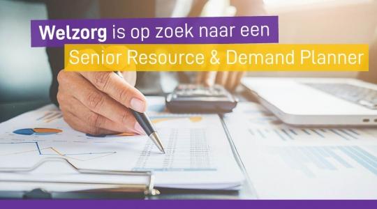 Senior Resource en Demand Planner Welzorg Wmo Hulpmiddelen vacature