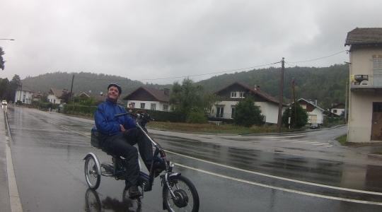 Rene fietstocht ballon d'Alsace Welzorg Van Raam