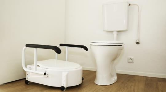 Toiletverhoger zorgunit