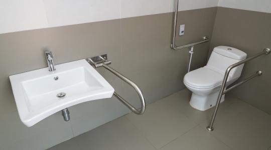 Aangepast toilet