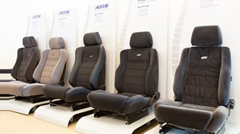 ASS autostoel-zijwangen