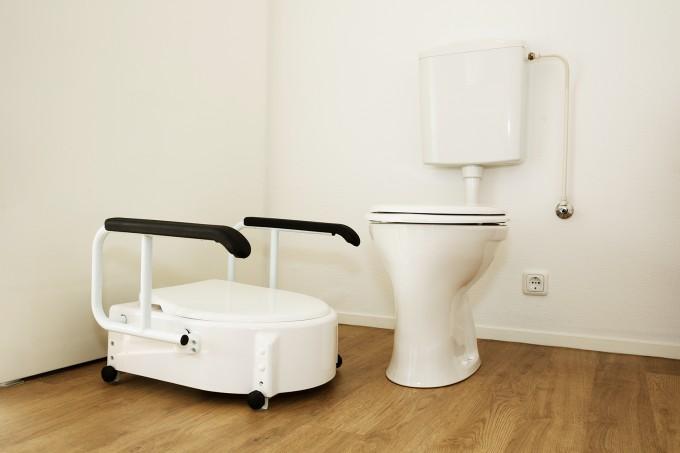 Aangepaste zorgunit badkamer