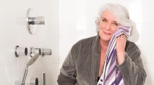 Oplevering aangepaste badkamer