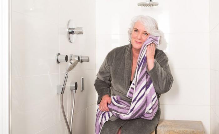 douchestoel badkamer